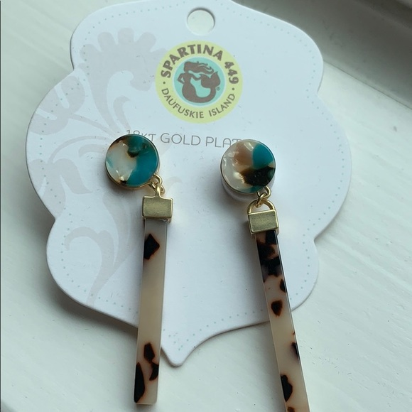 Gold plated Spartina earrings